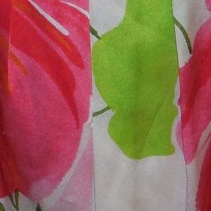 Cache Size 10 Multi Color Floral Dress